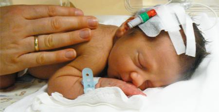 Koraszülött baba - homeopátia